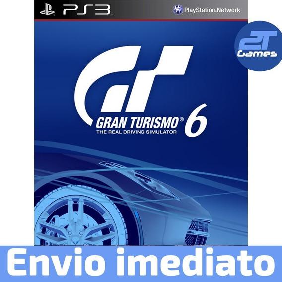 Gran Turismo 6 Ps3 Psn Dublado Português Pt Br Jogo