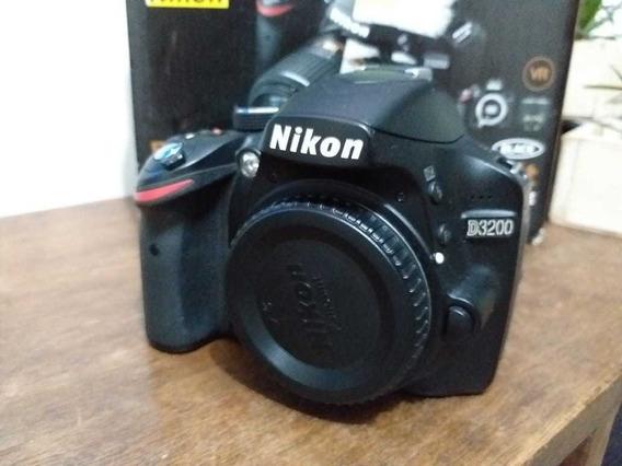Câmera Nikon D3200 Kit 18-55 Af-s Dx F/3.5.5.6g Vr 2