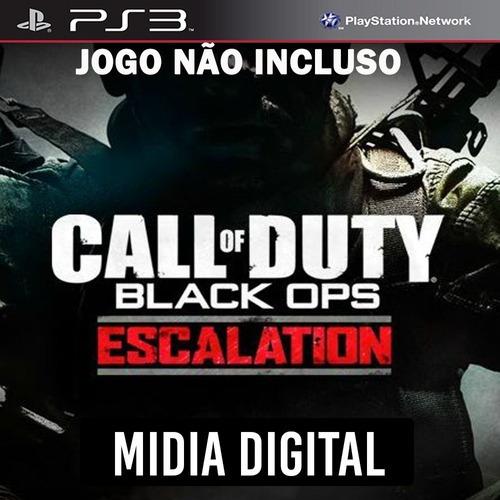 Dlc* Escalation Call Of Duty Black Ops Cod Bo - Ps3 Psn*