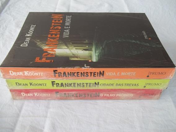 Livro Dean Koontz Coleção Frankenstein 3 Titulos Veja Fotos