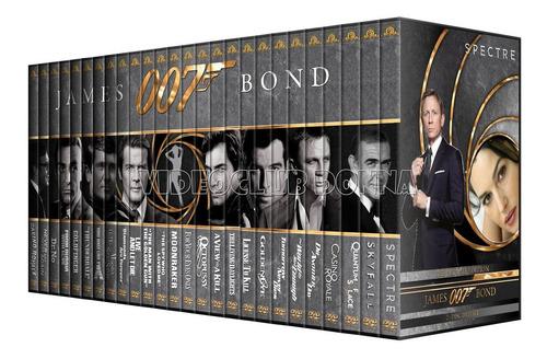 007 James Bond Colección Completa 26 Peliculas En Dvd Saga