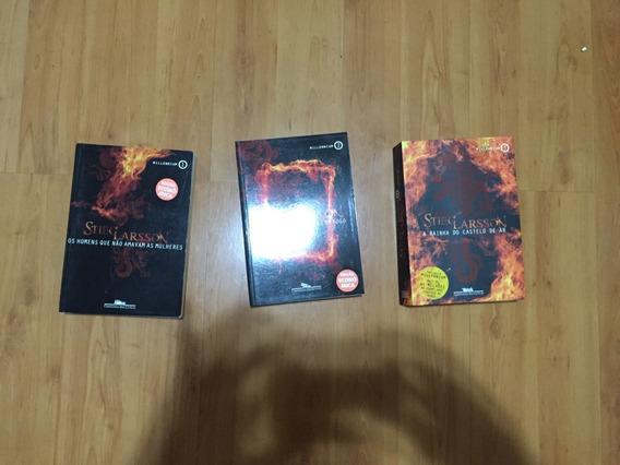 Livros Trilogia Millenium - Stieg Larsson