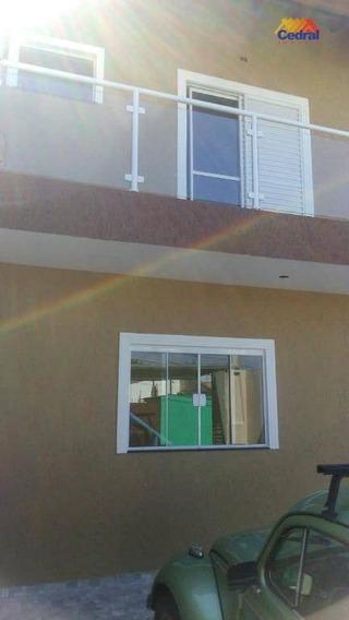 Sobrado Com 3 Dormitórios À Venda, 130 M² Por R$ 450.000,00 - Parque Santana - Mogi Das Cruzes/sp - So0324
