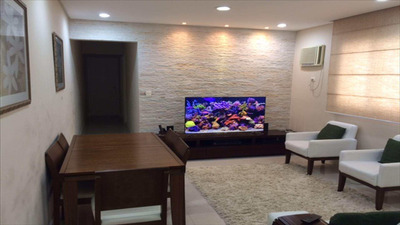 Apartamento Em Santos Bairro Estuário - V10035