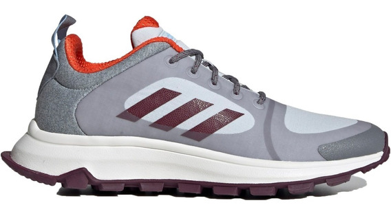 Tenis adidas Response Trail X Gris Correr Senderismo 24 Mx