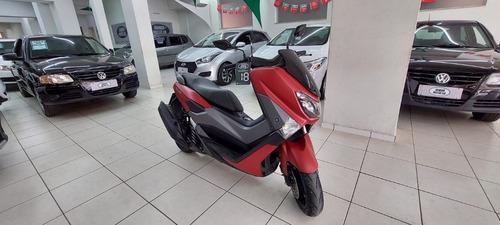 Imagem 1 de 6 de Yamaha Nmax 160 Vermelha 2018 Gasolina