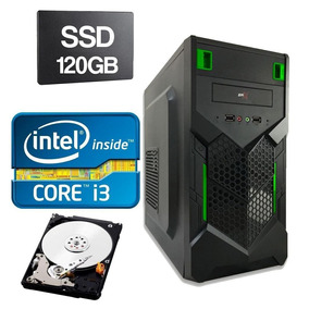 Cpu Intel Core I3 2120 3.3ghz 4gb Ddr3 Ssd 120gb Hd 320gb