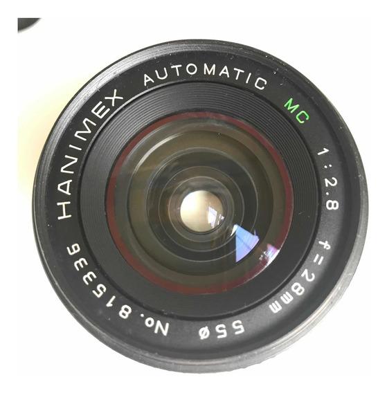 Lente 28mm Hanimex Automatic