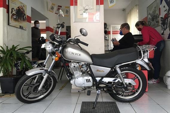 Suzuki Intruder 125 Cinza 2004