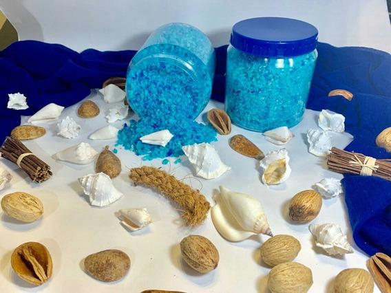 Sal Marina Para Spa Azul Epson Para Pies Sandia Azul Pies