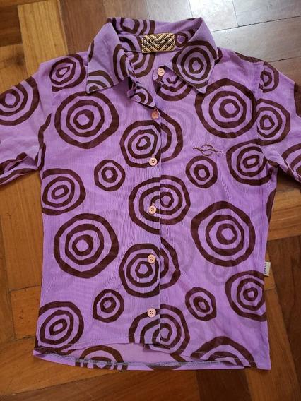 Camisa Estilo Vintage De Primera Marca Impecable