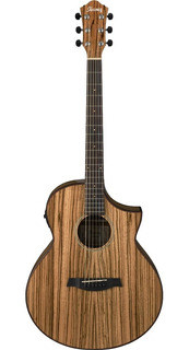 Ibanez Aew40zwnt Guitarra Electroacustica Madera Zebra Nat