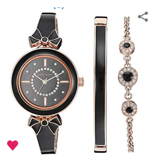 Reloj Anne Klein Swarovski Crystal Accented Para Mujer 31mm,