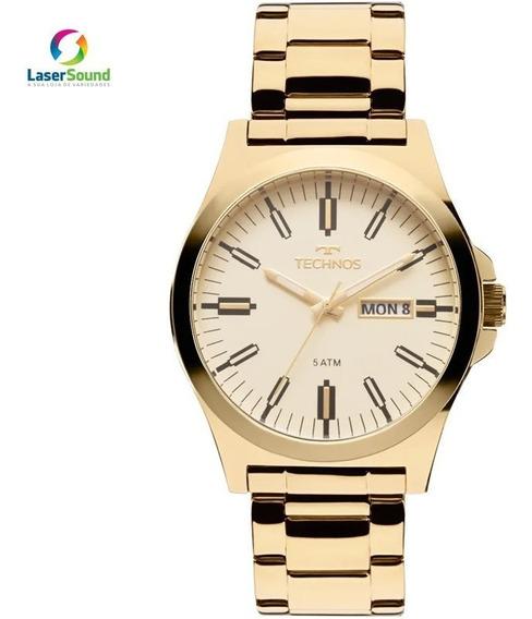 Relógio Technos Masculino 2305ay/4x C/ Garantia E Nf