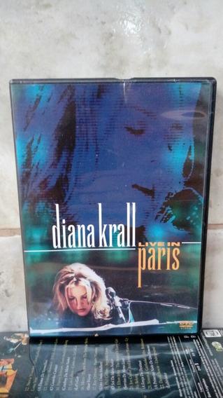 Música Diana Krall Live In Paris Dvd Original