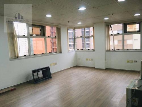 Imagem 1 de 18 de Sala Para Alugar, Moema, 44 M² - São Paulo/sp - Sa0288