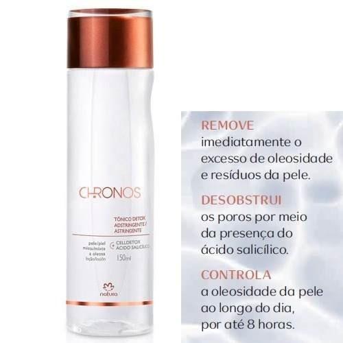 Tônico Detox Chronos Natura 150ml - Limpa E Tonifica A Pele