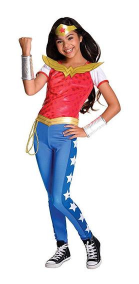 Disfraz Mujer Maravilla Original Con Latigo