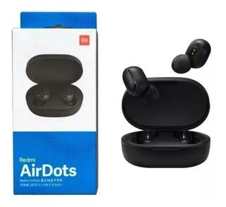 Fone De Ouvido Xiaomi Airdots Bluetooth Preto 100%original