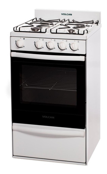 Cocina Volcan 89644vm Blanca 55cm
