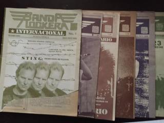 Banda Rockera Fanzine - 4 Números $ 100 C/u