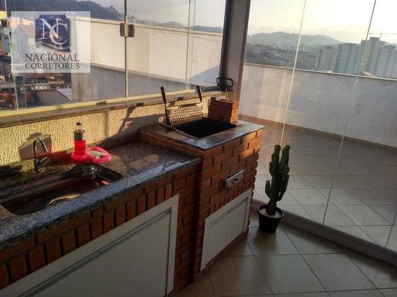 Cobertura Com 2 Dormitórios À Venda, 74 M² Por R$ 225.000 - Jardim Santo André - Santo André/sp - Co3536