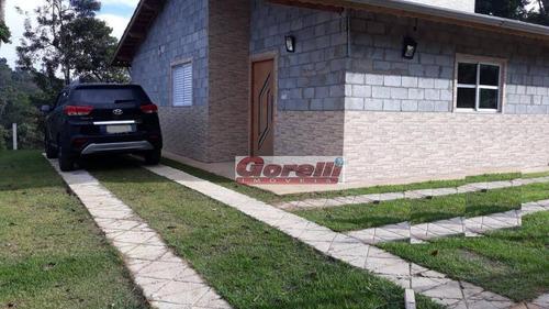 Chácara Com 3 Dormitórios À Venda, 2500 M² Por R$ 390.000,00 - Correas - Arujá/sp - Ch0099