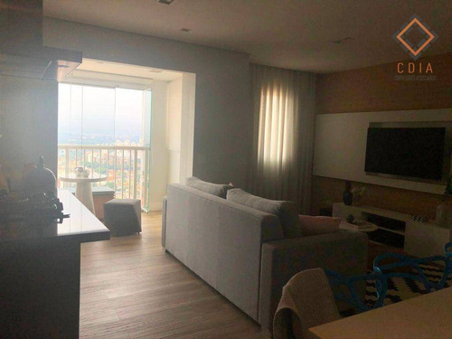 Imagem 1 de 30 de Apartamento Com 1 Dormitório À Venda, 61 M² Por R$ 489.000,00 - Morumbi - São Paulo/sp - Ap55017