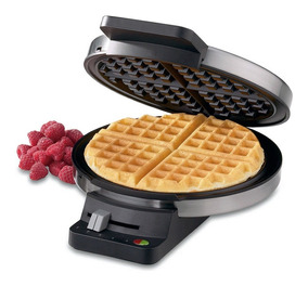 Cuisinart Máquina Para Waffle Em Aço Escovado -127v