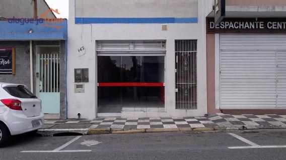 Salão Para Alugar, 180 M² Por R$ 2.800/mês - Centro - Jacareí/sp - Sl0059