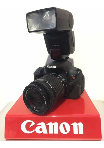Canon T5i Kit 18-55m +bateria Extra C/24 Mil +flash 380ex
