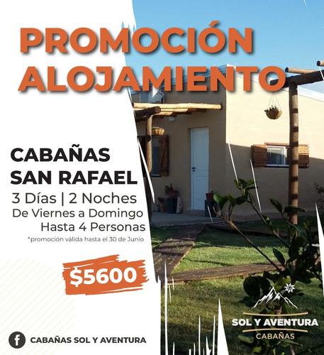 Cabañas  San Rafael  Invierno !!! Y Deptos Valle De Leñas