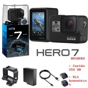 Câmera Digital Gopro Hero 7 Black 4k + Cartão 256gb + Brinde