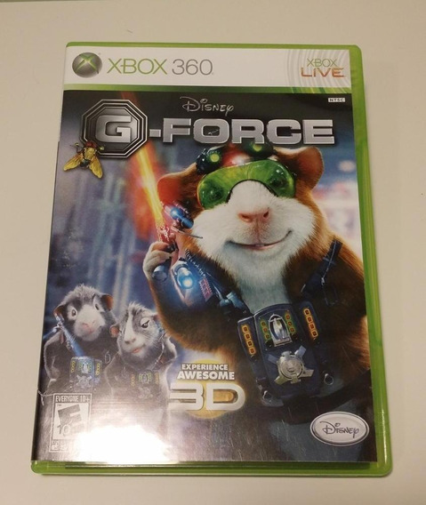 Disney G-force Xbox 360 Jogo Original Mídia Física