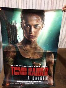 Cartaz Tomb Raider: A Origem (pôster Original De Cinema)