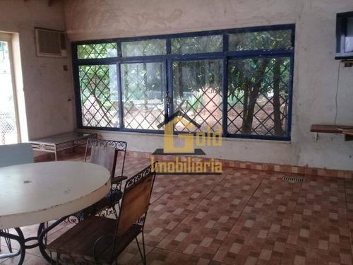 Chácara Com 2 Dormitórios À Venda, 1580 M² Por R$ 480.000 - Jardim Salgado Filho - Ribeirão Preto/sp - Ch0016