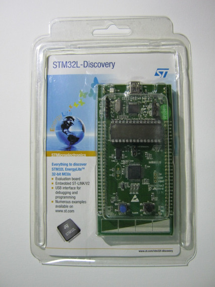 St Stm32l Discovery Kit Arm Cortex M3 32 Bits Roda Freertos