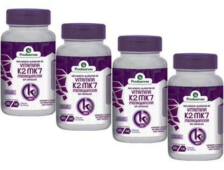 Vitamina K2 Menaquinona Mk7 240 Cápsulas Beneficios Oferta