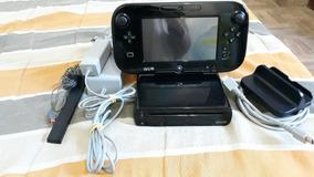 Wiiu 32gb Desbloqueado Com Jogos [usado]
