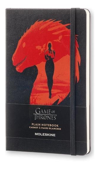 Caderno Moleskine, Game Of Thrones, C. Dura, S/pauta, Grande