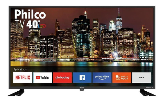 Smart Tv Led 40 Full Hd Philco Pvt40m60s 2 Hdmi Netflix