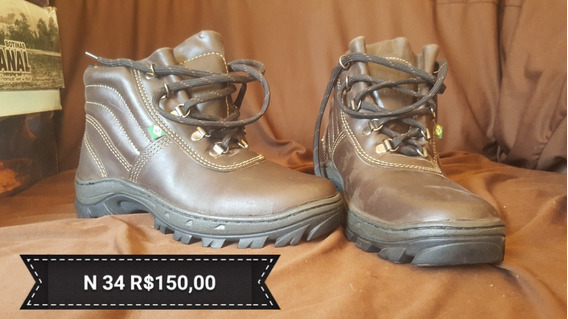 Boot Couro Legitimo