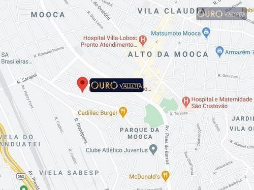 Ótimo Terreno A Venda No Parque Da Moóca - Te 210208d - Te0255