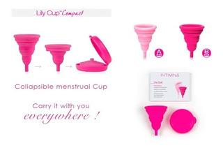 Copa Menstrual Lily Cup Compact Disponible Sólo Talla B