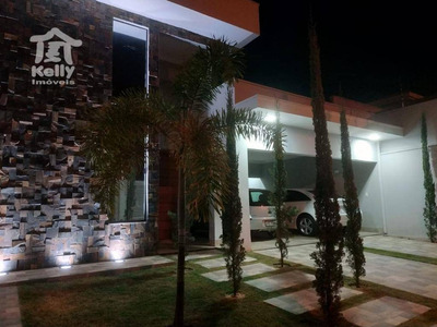 Casa À Venda, 302 M² Por R$ 795.000 - Residencial São João - Álvares Machado/sp - Ca0496