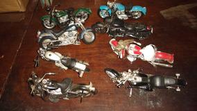 Mini Motos Maisto Coleção Com 8 Peças R$ 320,00