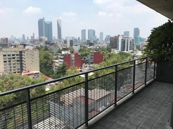 Condesa, Terrazas, Balcón, Vista Panorámica, Vigilancia