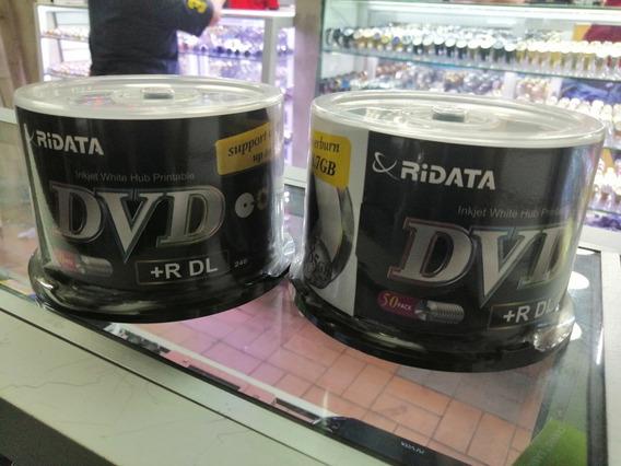 Discos Dvd-dl Ridata Doble Capa