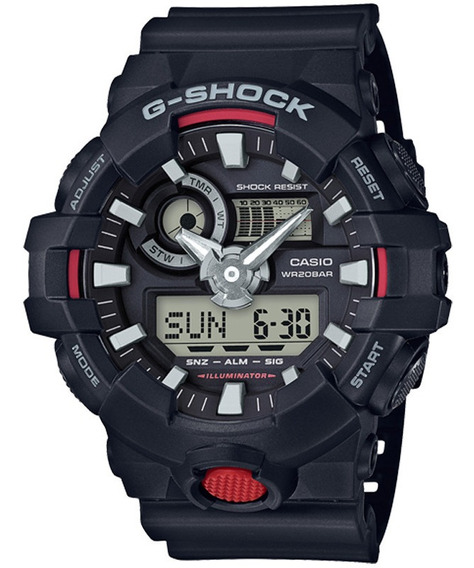 Relógio Casio G-shock Masculino Ga-700-1adr C/ Garantia E Nf