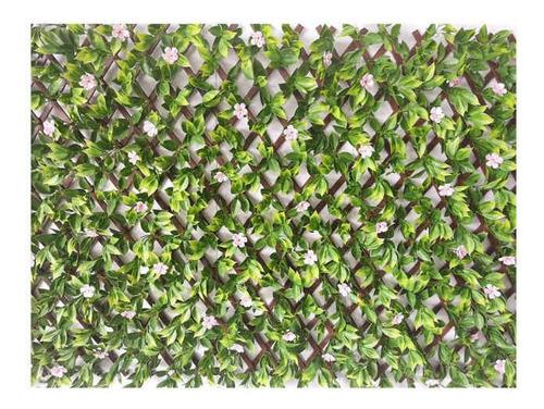 Jardín Vertical Artificial Extensible Flores 100 X 200 Cm